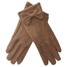 david and young d tan wool girly bow winter gloves Clothing And Textile, Antique Clothing, Size Clothing, D Tan, Winter Outfits, Cool Outfits, We Wear, How To Wear, London Look
