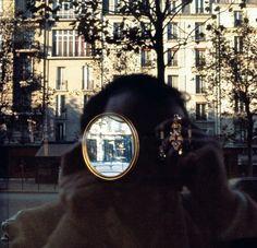 Luigi Ghirri. self portrait, Paris 1976