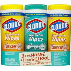 I'm learning all about Clorox Disinfecting Wet Wipes at @Influenster!