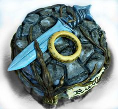 Lord of the ring cake   lord of the rings - by mdt @ CakesDecor.com - cake decorating website