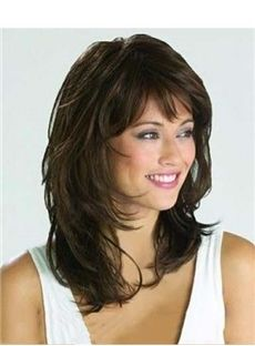 Graceful Medium Wavy Natural Brown 14 Inches Synthetic Wig. Get amazing discounts up to 75% Off at Wigsbuy using Coupons & Promo Codes.