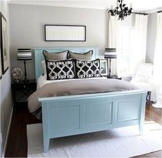 Pale blue kitchen paint colors are very popular. Blue is a perfect backdrop to white kitchen cabinets and gray appliances. It helps keep you...