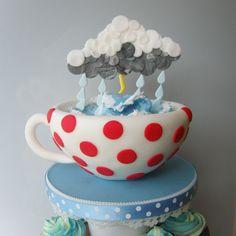 tea cup cake example