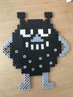 Easy Perler Bead Patterns, Cross Stitch Patterns, Fuse Beads, Perler Beads, Little My Moomin, Bead Crafts, Diy And Crafts, Perler Bead Disney, Tapestry Crochet Patterns