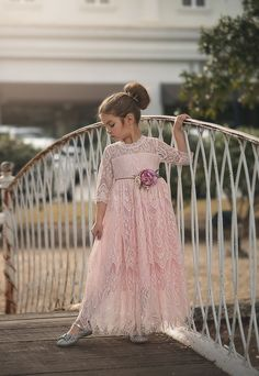 Take a look at this Pink Bella Rafaela Gown - Toddler & Girls today! Flower Girls, Flower Girl Dresses, Dress Anak, Kids Fashion, Fashion Outfits, Toddler Fashion, Fashion Trends, Frock Dress, Cute Outfits For Kids