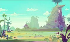 James Gilleard - cartoon backgrounds