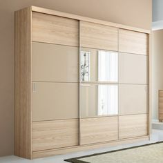 Bedroom Wardrobe Doors Armoires 70 New Ideas Wardrobe Interior Design, Wardrobe Design Bedroom, Bedroom Furniture Design, Wardrobe Closet, Three Door Wardrobe, Wardrobe Drawers, Sliding Door Wardrobe Designs, Closet Designs, Wooden Wardrobe Designs