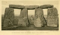Stonehenge Stones 30 and stones 1 and 2 looking toward the friars heel stone Picture Blog, Sticks And Stones, Stonehenge, Model Pictures, Bury, Magick, Drums, Things To Come, Nature