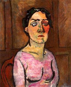 Portrait of Madame Raoul Dufy Raoul Dufy - 1908-1909