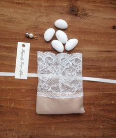 italian wedding favors jewelry favor pouch by TheWeddingBirds
