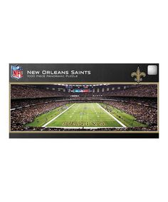 Love this New Orleans Saints Panoramic Stadium Puzzle by Masterpieces on #zulily! #zulilyfinds