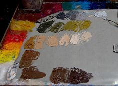 Zorn Palette and Color Chart