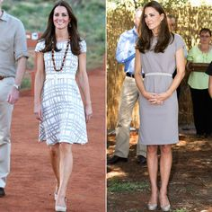 Kate Middleton Dazzles in Two Dresses Down Under  #InStyle
