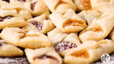 """Recipe By: MBMCD """"The dough for these cookies is what makes them exceptional. I always quadruple this recipe for the holidays. Most popular fillings are peach, apricot, raspberry and date. Use your imagination! This year I'm Kolachy Cookies, Cookies Fourrés, Honey Cookies, Thumbprint Cookies Recipe, Filled Cookies, Polish Cookies, Turtle Cookies, Yummy Cookies, Cream Cheese Cookies"""