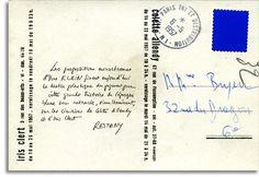 6 juin 1962 - 6 juin 2012, 50e anniversaire de la disparition de l'artiste Yves Klein © L'Adresse Musée de La Poste, Paris / La Poste