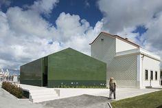 M2.senos - Portugal photos by Nelson Garrido  #Architeture #M2senos #Exterior #GlazedTiles