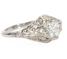 Unforgettable Diamond Engagement Ring - The Three Graces