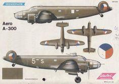 Опытный средний бомбардировщик и самолет-разведчик Aero A-300. Чехословакия Часть 1