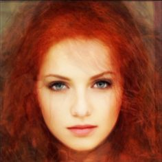 Average face of 12 red-headed women by lessThan5pct, via Flickr Light Red Hair, Long Red Hair, Green Hair, Pretty Red Hair, Average Face, Red Heads Women, Ginger Girls, Redhead Girl, Beautiful Redhead