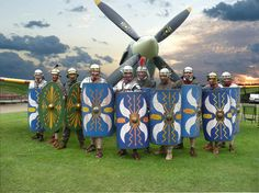 Just for fun: how the British re-enact the ancient Roman military life. :-)