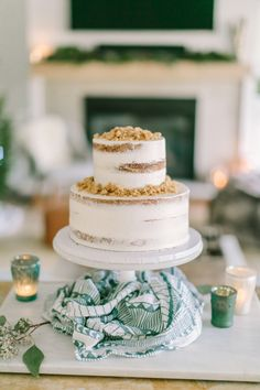 Party cake: http://www.stylemepretty.com/living/2017/02/20/a-cozy-winter-baby-shower/ Photography: Love and Light - http://loveandlightphotographs.com/