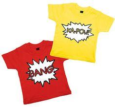 Comic T Shirt Set