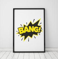 dziecko - plakaty, obrazki-PLAKAT, OBRAZEK BANG Batman