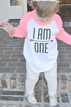 """Gracie + Hatcher """"I AM ONE"""" Tee Review & Giveaway on Fawn Over Baby Blog  #babyfashion #babytee #giveaway #babygiveaway"""