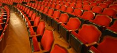 Seats of the newly renovated Waterville Opera House. Mountain Bike Trails, Local Attractions, New England, Opera House, Culture, History, Historia, Opera