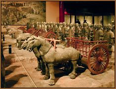 The Terracotta Army - How cool is this.  And I thought tin soldiers were fun to play with.