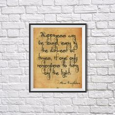 Harry Potter Print Happiness can be found Harry von UkrPrintDesign