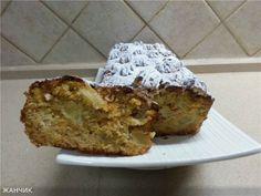 Яблочно-абрикосовый кекс (без сахара) : Выпечка сладкая