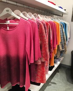 A rainbow of unique clothes.  Discover all the products at www.virginiapreo.com  #virginiapreocashmere #fashion #fashionista #venice #cashmere #love #fashiongram #lookoftheday #outfitoftheday #style #lookbook #outfit #clothes #instastyle #instafashion #fashiondiaries #outfitpost #fashionpost #fashiongram #accessories #madeinitaly #collection #venicestore #venice #rainbow #colors #colours #picoftheday