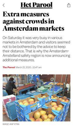 Amsterdam Market, March, News, Mac