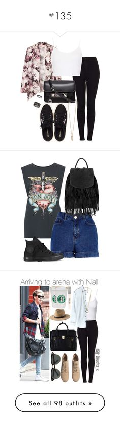 """""""#135"""" by ntcersyy ❤ liked on Polyvore featuring Oh My Love, Topshop, Henri Bendel, Proenza Schouler, Zoya, And Finally, River Island, Converse, angela379 and H&M"""