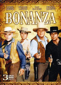 Bonanza Lorne Greene as Ben Michael Landon as Little Joe Dan Blocker as Hoss and Pernell Roberts as Adam Pernell Roberts, Michael Landon, Bonanza Tv Show, Tv Westerns, Kino Film, Old Shows, Western Movies, Vintage Tv, Tv Guide