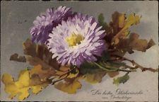 Artistes AK Klein, Caterina, Félicitations Anniversaire, Violet Fleur,... - 1525022 Catherine Klein, Victorian Flowers, Vintage Floral, Watercolor, Painting, Chrysanthemums, Drawing, Drawings, Fabrics