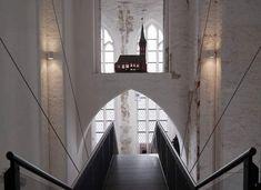 St. Petri, hinauf zum Aufzug! PETRIKIRCHE LÜBECK