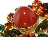 Identifying Stones Used in Vintage Costume Jewelry: Bullet or High Domed Cabochon