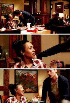 """I'm just kidding"" - Iris, Barry and Joe #TheFlash"