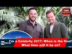 I'm a Celebrity 2017: When is the final? What time will it be on? I'm A Celebrity… Get Me Out Of Here! sees 12 celebrities jet off to the Australian jungle where they live off basic rations and take part in Bushtucker Trials The show has been running for two weeks, and the first cel...