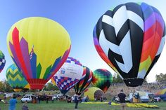 Scheduled twice daily at Carolina BalloonFest weekend with a Saturday Evening Balloon Glow!