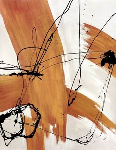 Abstract modern art featuring colored thick and thin line streaks on a neutral background. Adaptation Wall Art By: Joshua Schicker from Great Big Canvas Large Art, Art Painting, Wall Art, Abstract Painting, Painting, Painting Prints, Graphic Art Print, Abstract, Modern Art Abstract