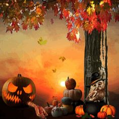 Popular and Trending gifs Gifs on PicsArt Scary Halloween Backgrounds, Picsart, Gifs, Popular, Painting, Painting Art, Popular Pins, Paintings, Presents