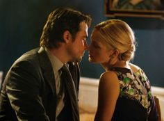 "Kelly Rutherford as Lily and Matthew Settle as Rufus on Gossip Girl from the episode ""The Sixteen Year Old Virgin""."