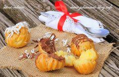 Johanna's recipes: Mini-eclairs Eclairs, Pumpkin, Pdf, Vegetables, Mini, Recipes, Food, Pumpkins, Recipies