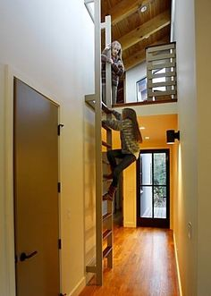 Indoor Climbing and Sliding Spaces : Remodelista