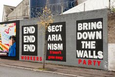 Belfast has come a long way from The Troubles but the International Wall of Art along the Peace Lines has become a street art haven, a modern day Berlin Wall.