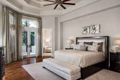 Mediterra, Naples- Renovation - Transitional - Bedroom - Miami - by Harwick Homes Transitional Bedroom, Couch, Naples, Furniture, Miami, Homes, Home Decor, Settee, Houses