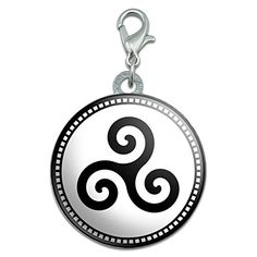 Triskele Spiral Symbol Stainless Steel Pet Dog ID Tag *** Want to know more, click on the image. (Note:Amazon affiliate link)